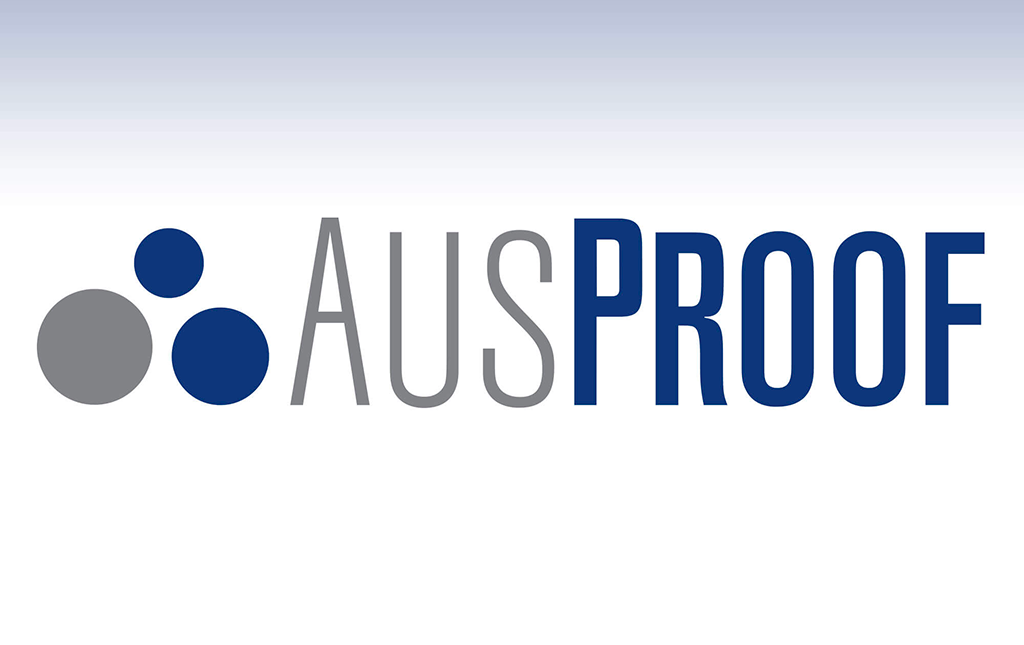 AusProof has a new logo!