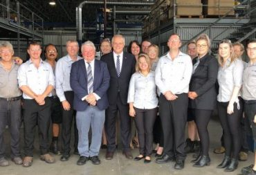 PM Scott Morrison Tours AusProof