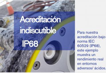 Inmersión Prolongada (IP68)